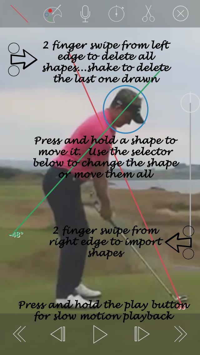 SwingPlane Golf App Manual