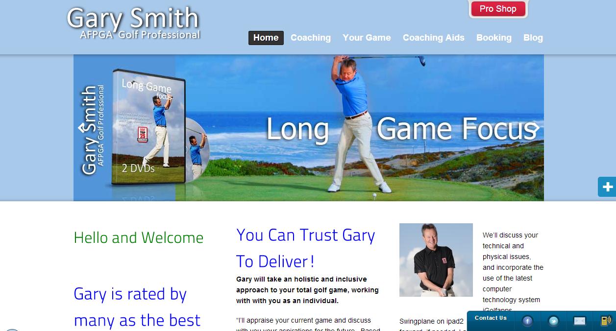 garysmithgolf.com