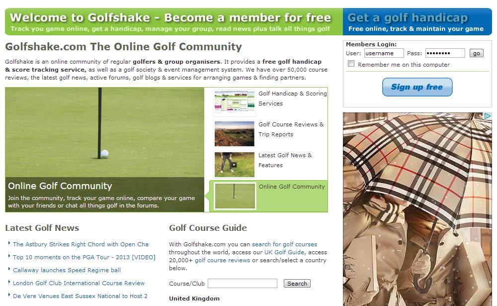 golfshake.com